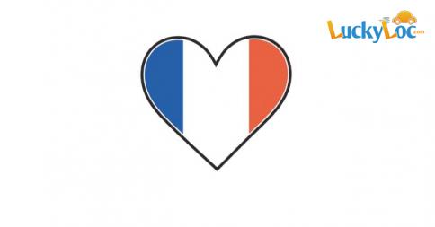 La France, visitez-la grâce à une location de voiture chez Luckyloc