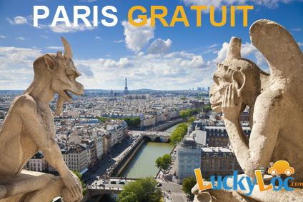 Paris Gratuit grâce à luckyloc y déménager pour 1 €