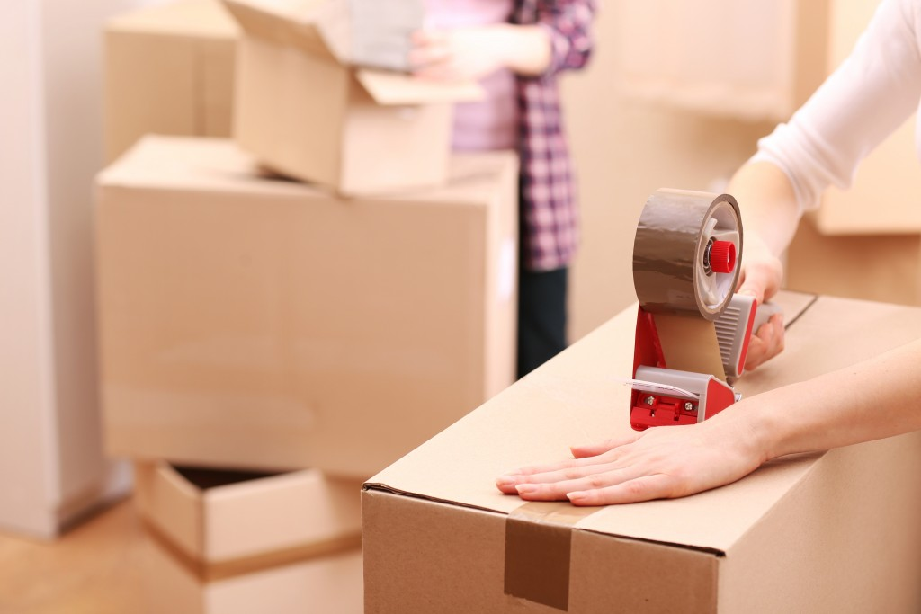faire ses cartons de demenagement