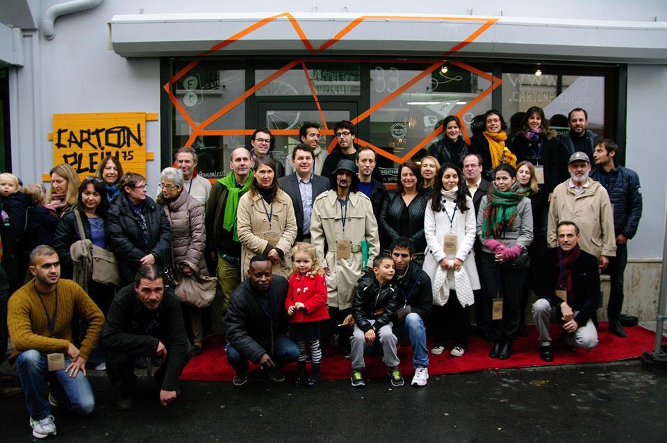 L'équipe de Carton Plein compte 10 personnes qui redonnent vie aux cartons de déménagement