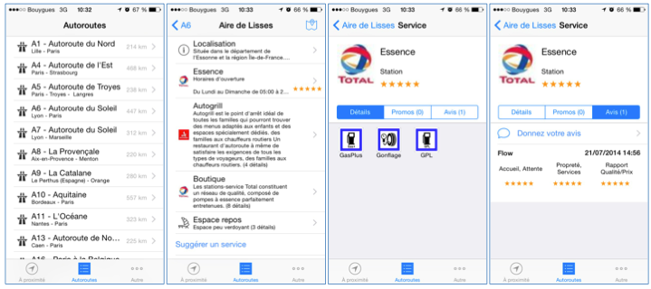 L'application Stationaute est gratuite et collaborative