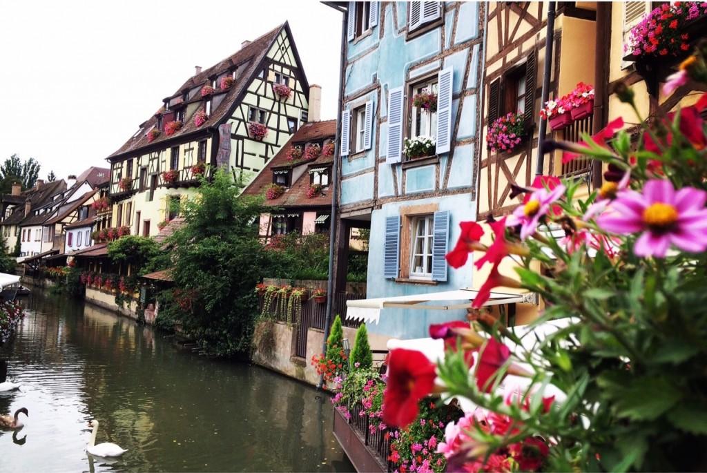 La Petite Venise est la partie la plus pittoresque de Colmar