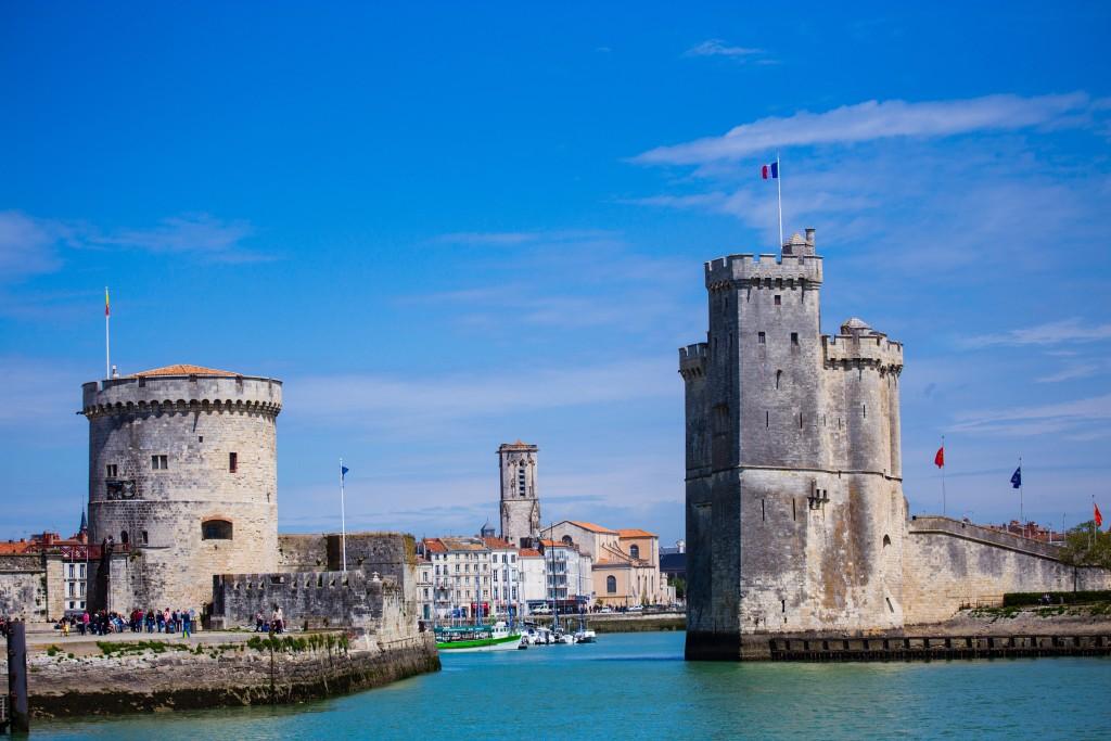 L'entrée de La Rochelle par le port