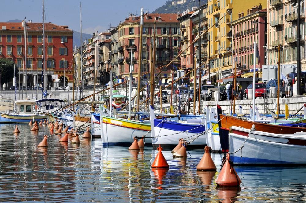Les bateaux du port de Nice
