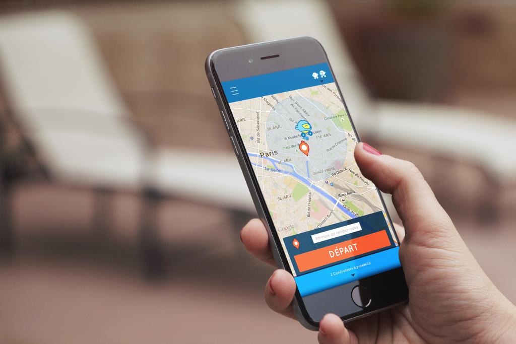 L'application Mapool est basée sur la géolocalisation