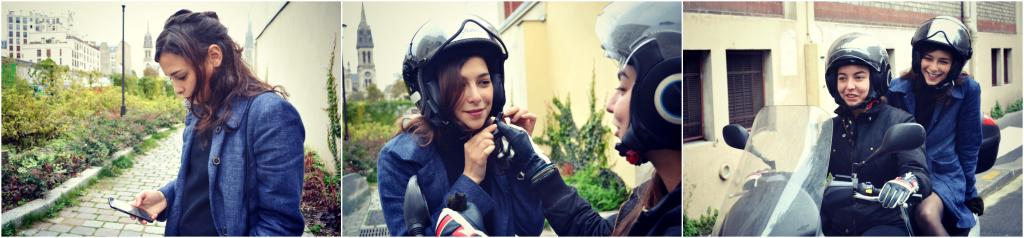 Le comotorage permet de faire du covoiturage en moto