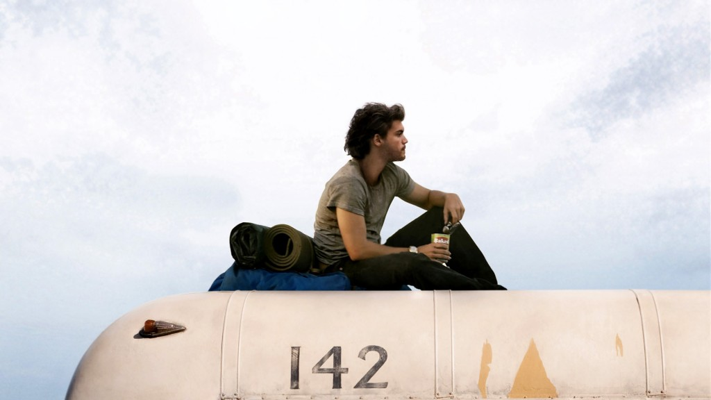 into the wild acteur sur son van